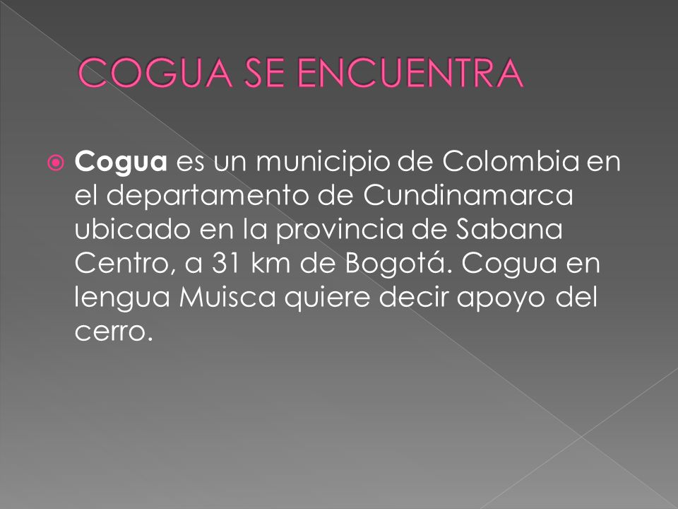 COGUA SE ENCUENTRA