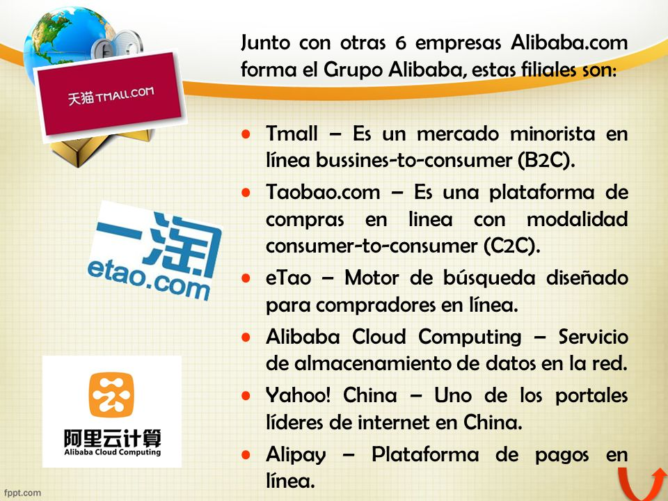 Junto con otras 6 empresas Alibaba