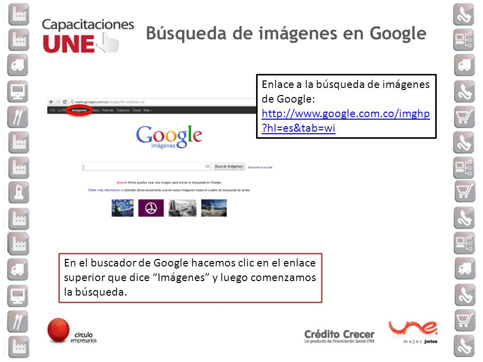Búsqueda de imágenes en Google
