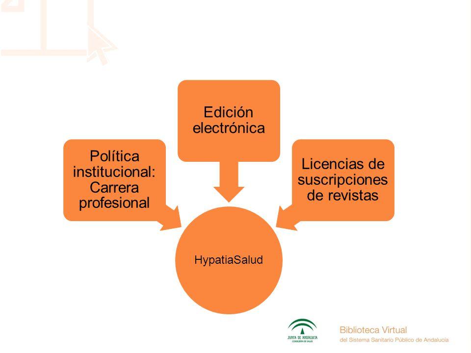HypatiaSalud Política institucional: Carrera profesional