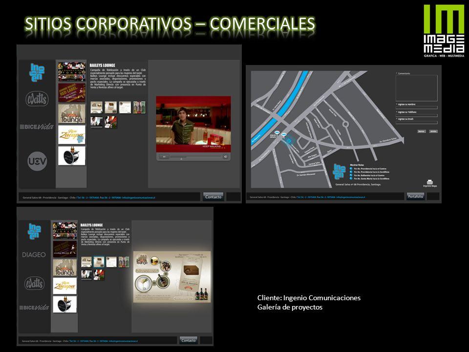 SITIOS CORPORATIVOS – COMERCIALES