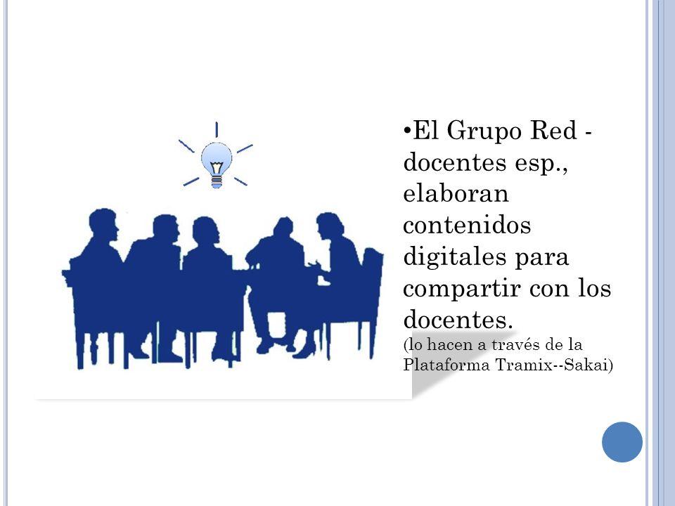 El Grupo Red -docentes esp