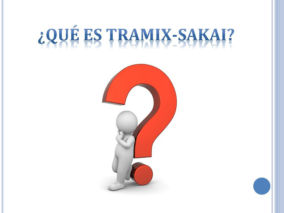 ¿Qué es Tramix-Sakai