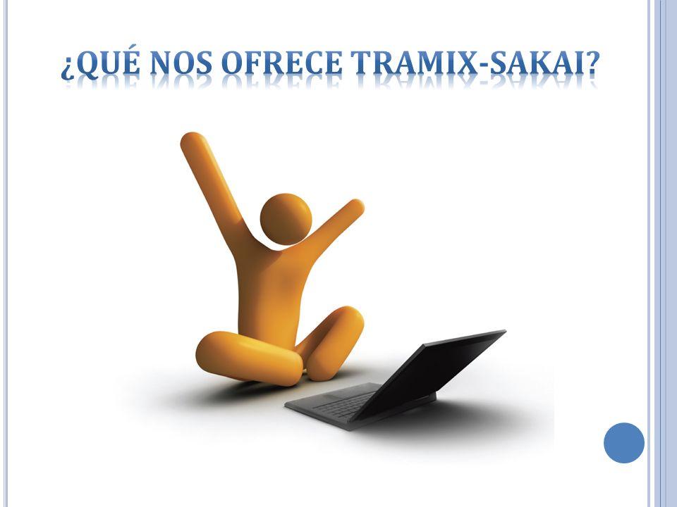 ¿Qué nos ofrece Tramix-Sakai