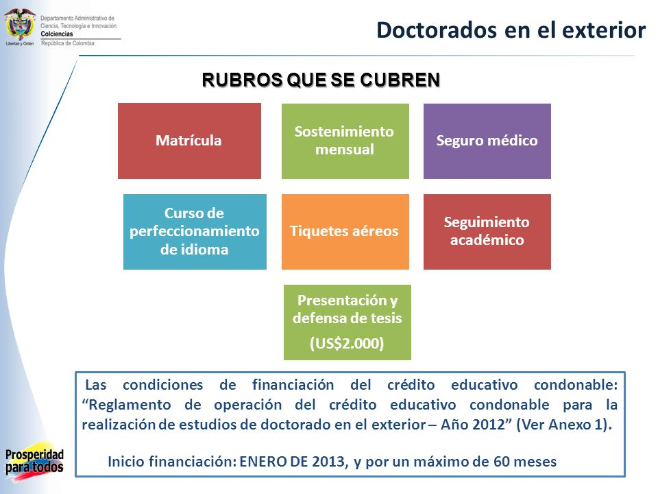 Doctorados en el exterior