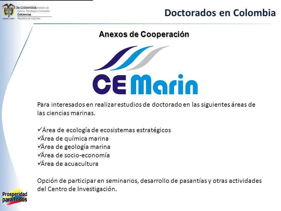 Doctorados en Colombia