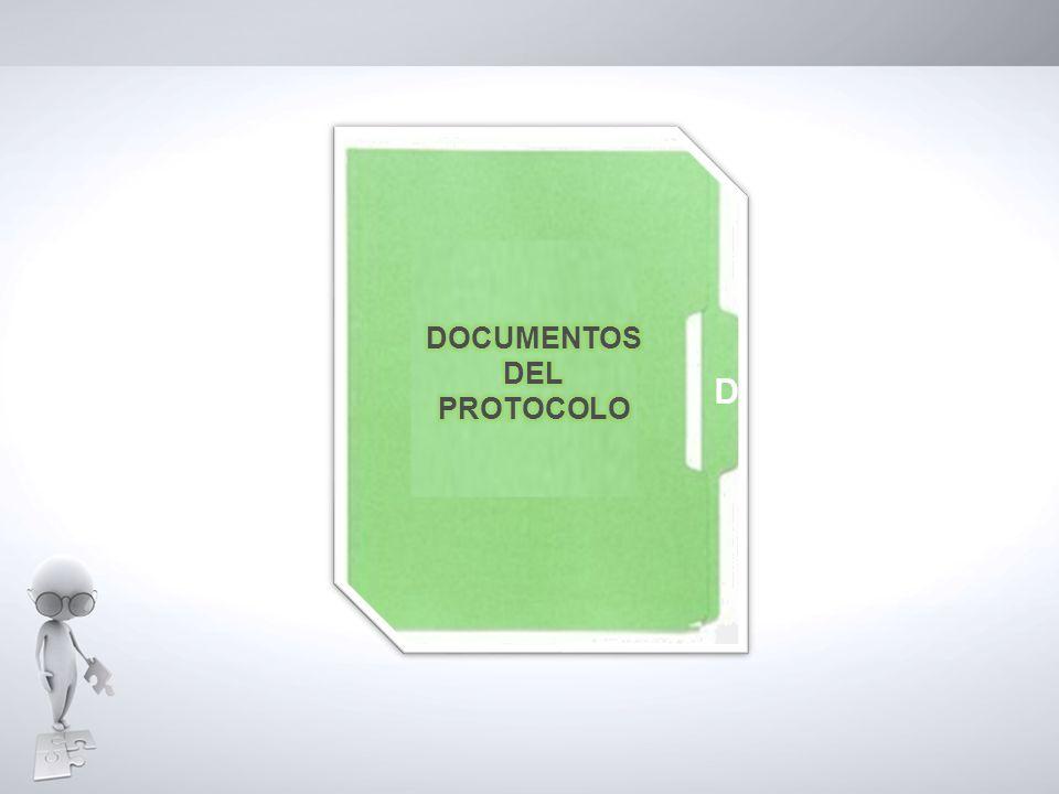 D D DOCUMENTOS DEL PROTOCOLO D D