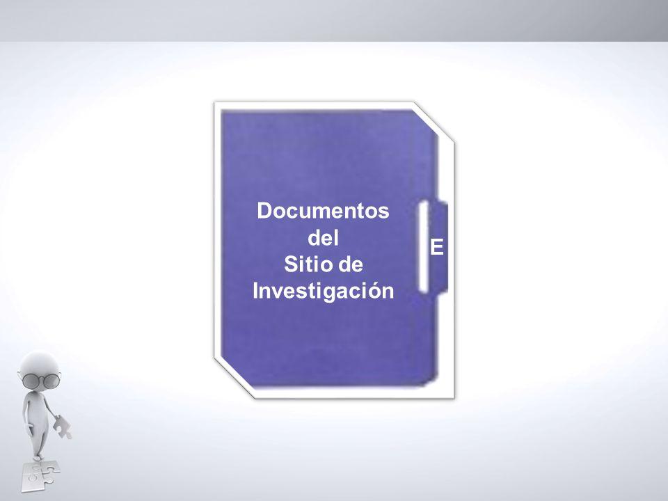Documentos del Sitio de Investigación E