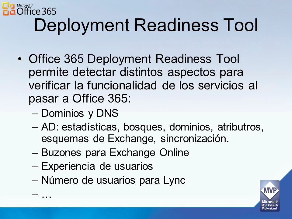 Deployment Readiness Tool