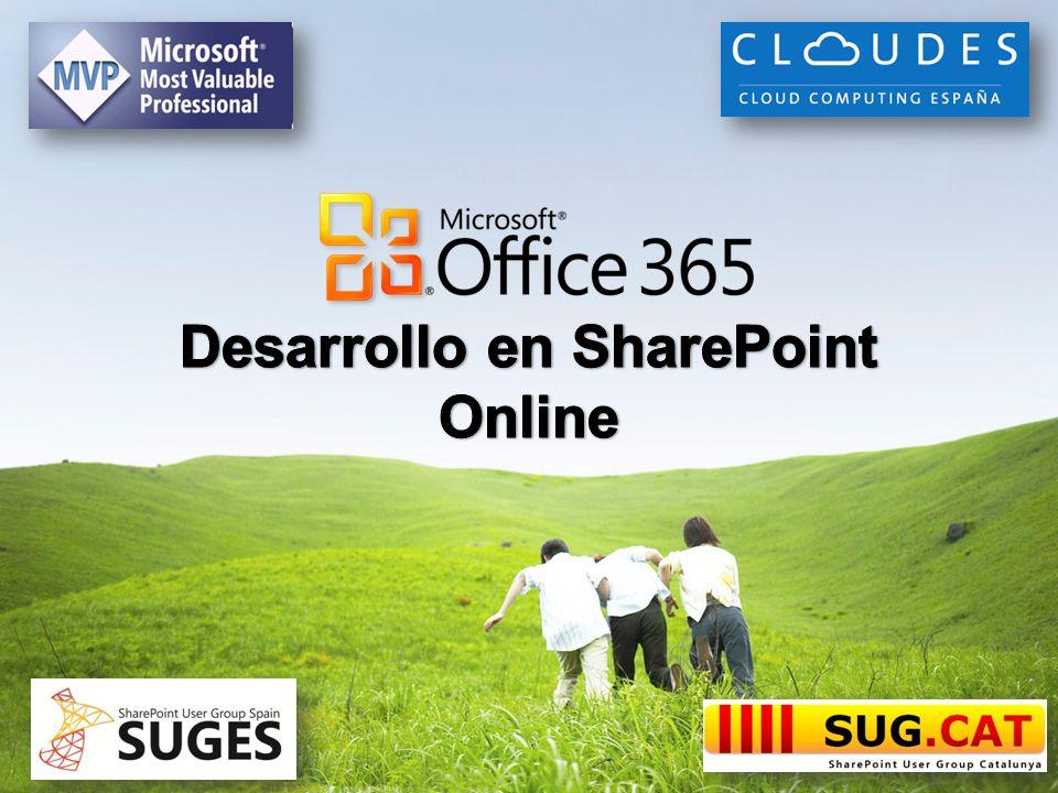 Desarrollo en SharePoint Online