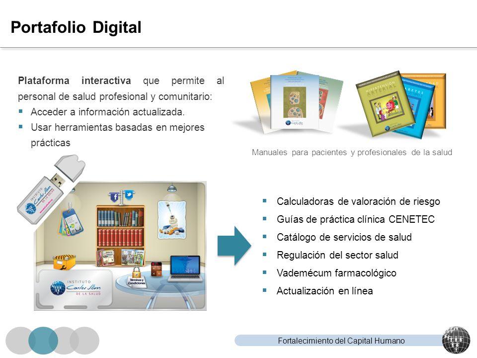 Portafolio Digital Plataforma interactiva que permite al personal de salud profesional y comunitario:
