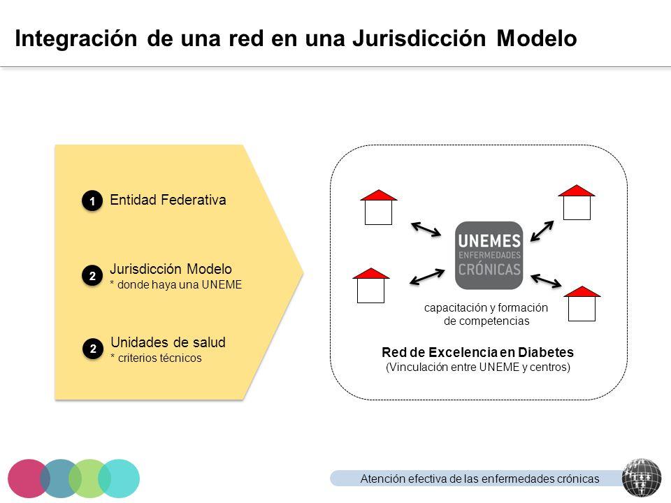 Integración de una red en una Jurisdicción Modelo