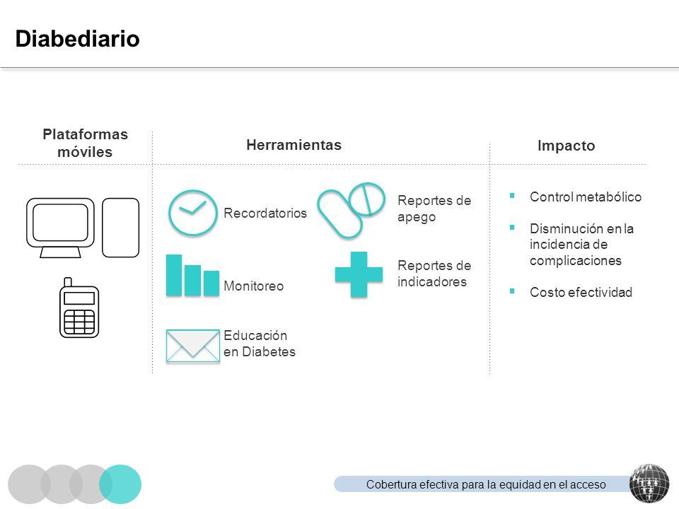 Diabediario Plataformas móviles Herramientas Impacto