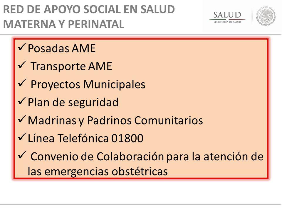 RED DE APOYO SOCIAL EN SALUD MATERNA Y PERINATAL
