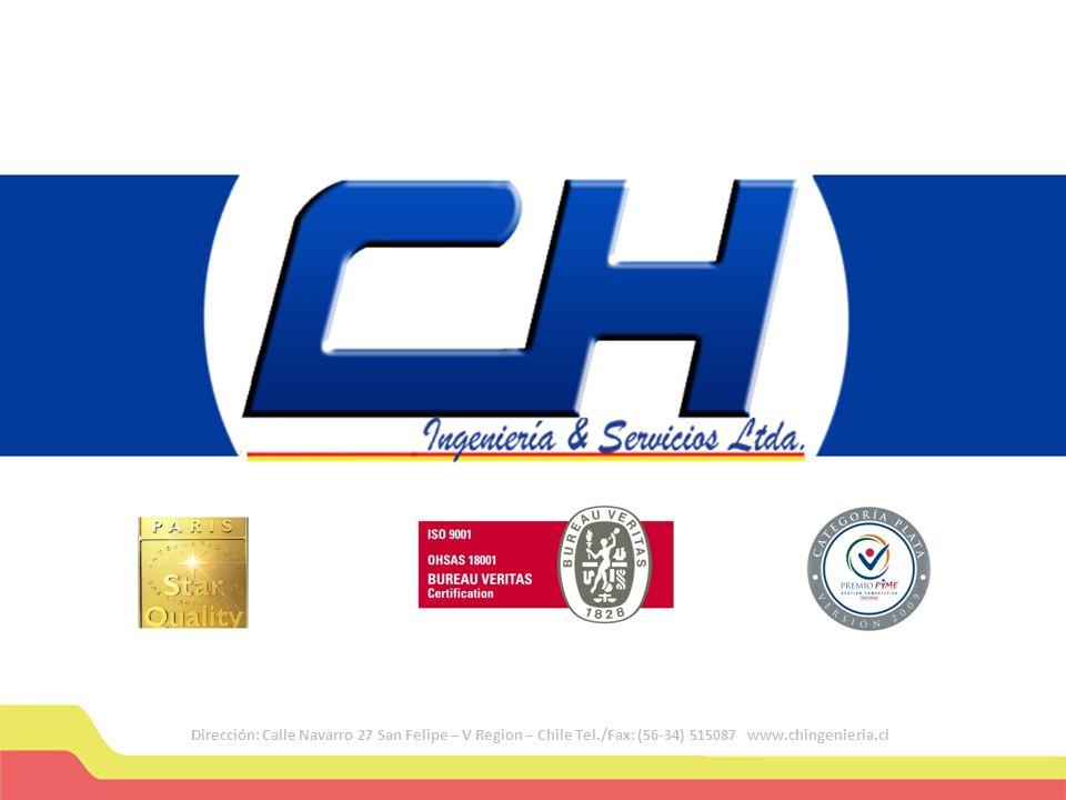 Dirección: Calle Navarro 27 San Felipe – V Region – Chile Tel