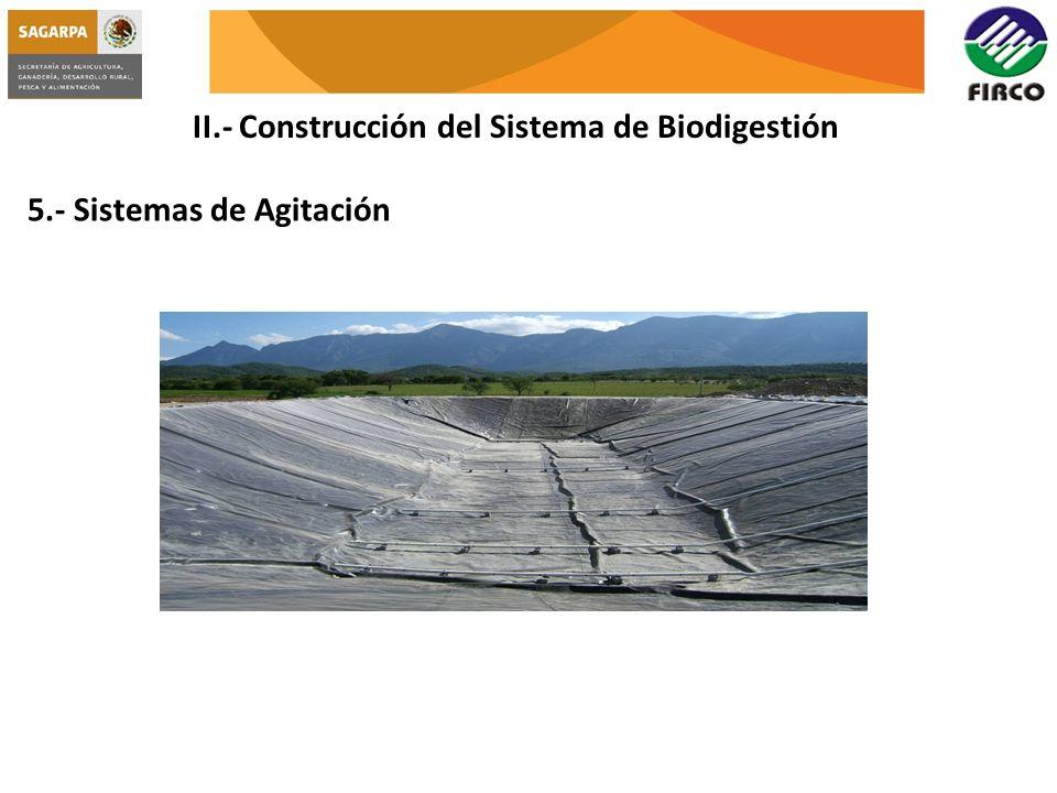 II.- Construcción del Sistema de Biodigestión