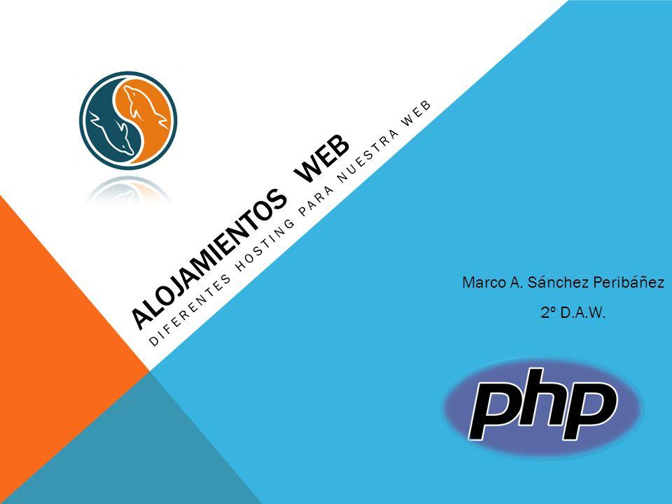 Diferentes hosting para nuestra web
