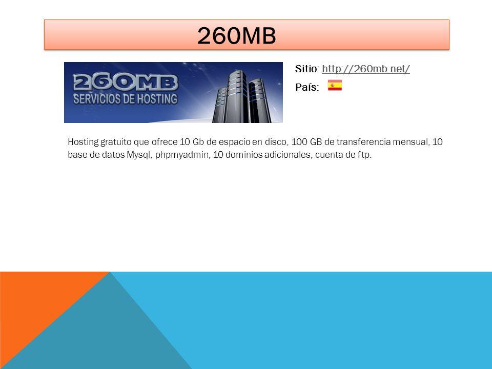 260mb Sitio: http://260mb.net/ País: