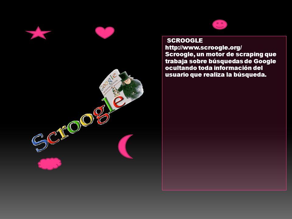 SCROOGLE http://www.scroogle.org/