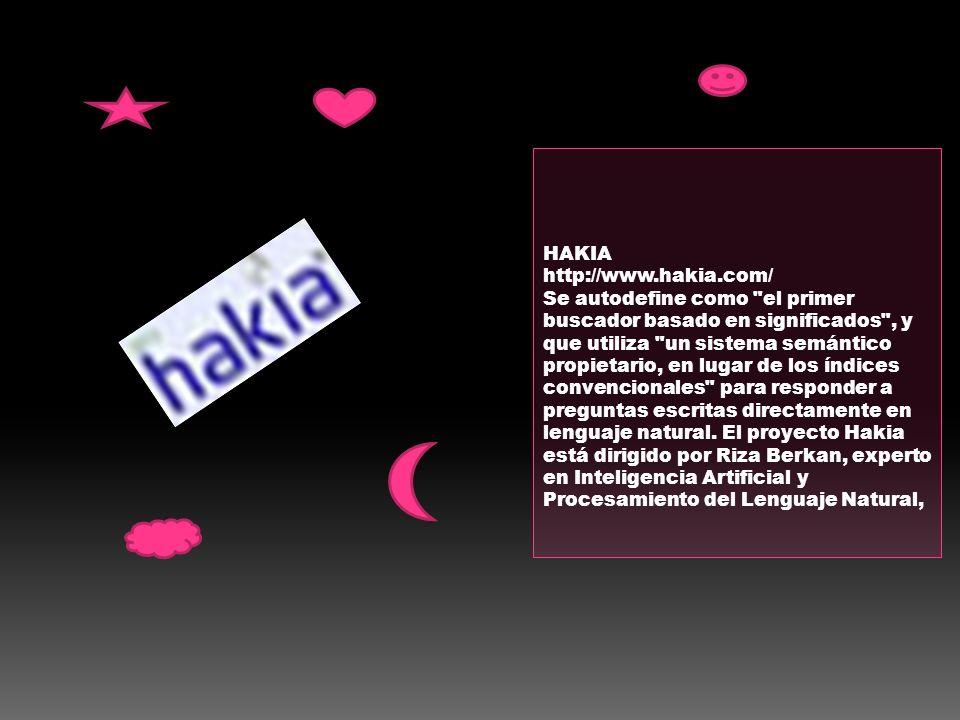 HAKIA http://www.hakia.com/