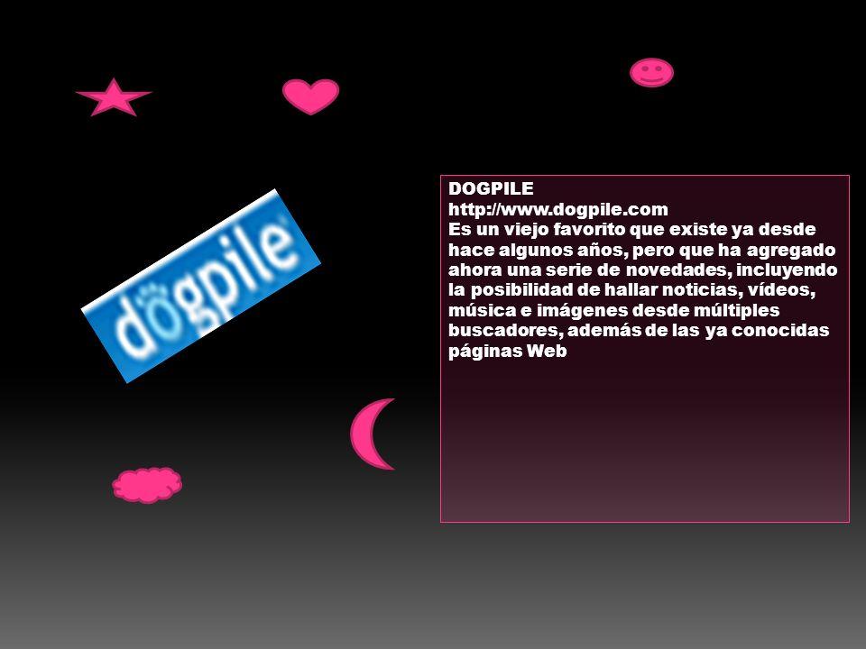 DOGPILE http://www.dogpile.com.