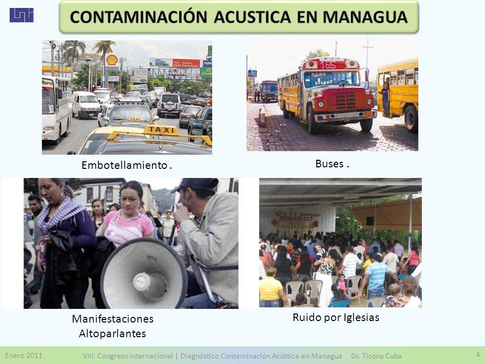 CONTAMINACIÓN ACUSTICA EN MANAGUA