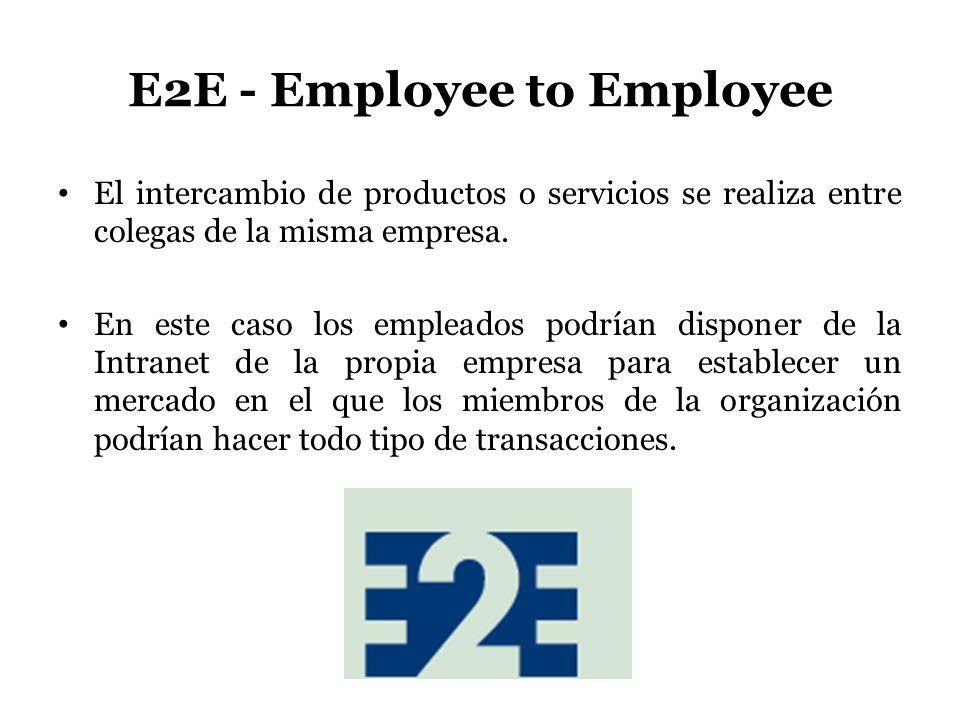 E2E - Employee to Employee