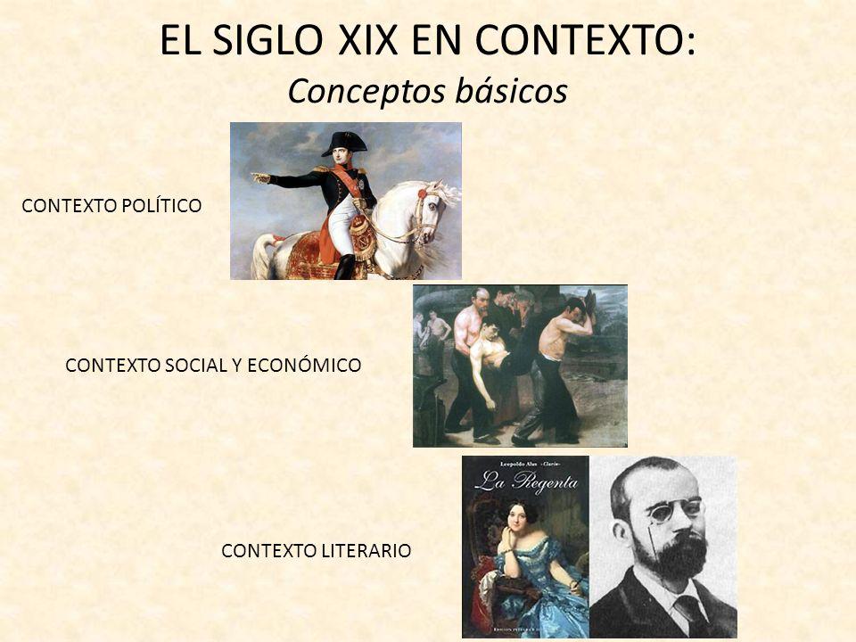 EL SIGLO XIX EN CONTEXTO: Conceptos básicos