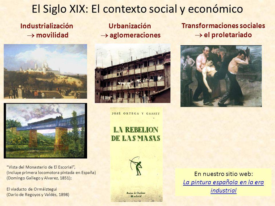 El Siglo XIX: El contexto social y económico