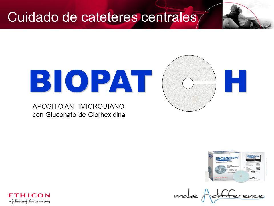 BIOPAT H Cuidado de cateteres centrales APOSITO ANTIMICROBIANO