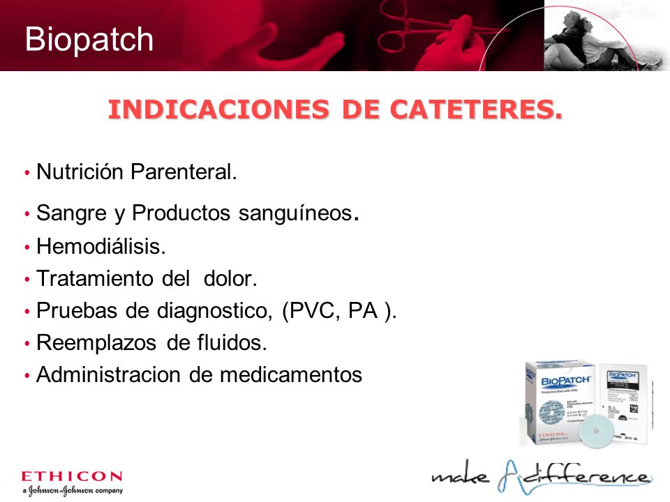 INDICACIONES DE CATETERES.