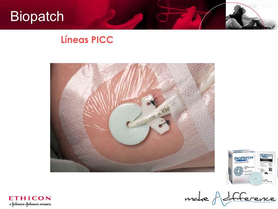 Biopatch Líneas PICC