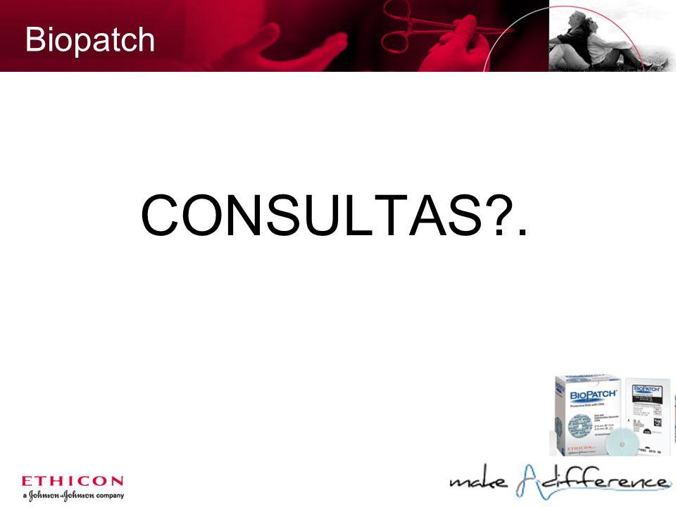 Biopatch CONSULTAS .