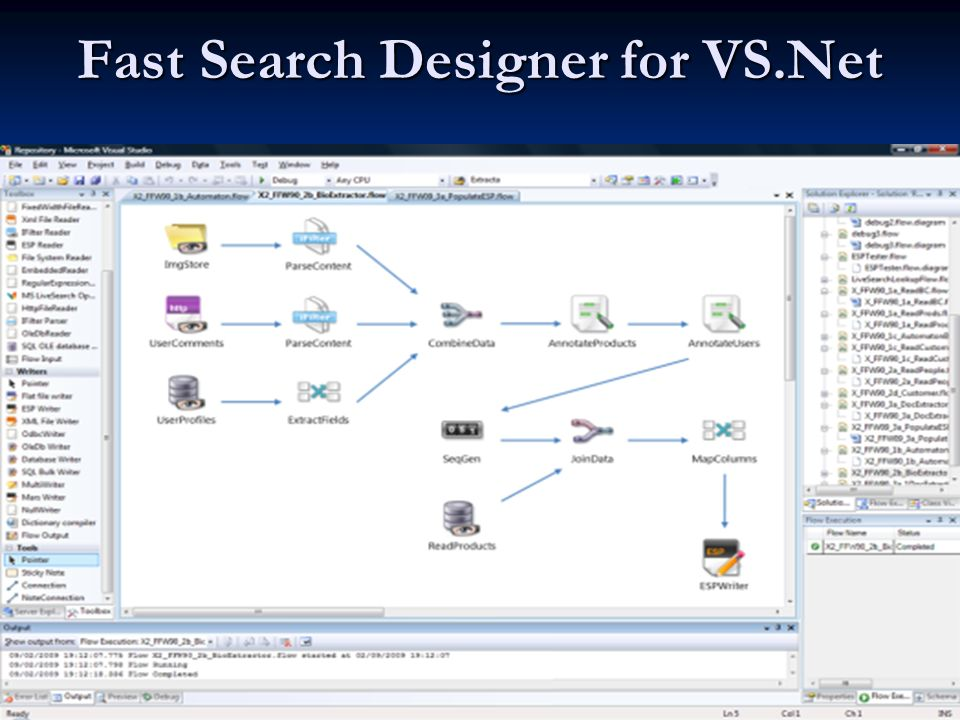 Fast Search Designer for VS.Net