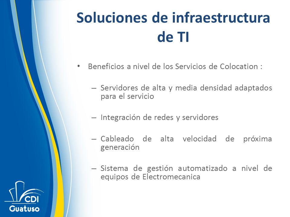 Soluciones de infraestructura de TI