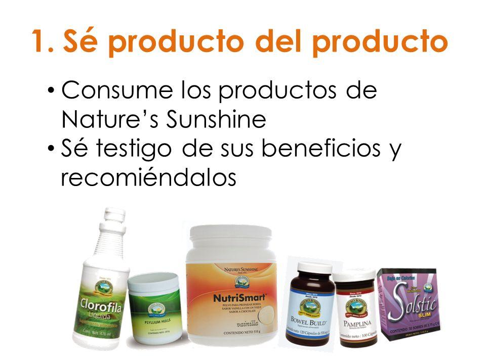 Sé producto del producto