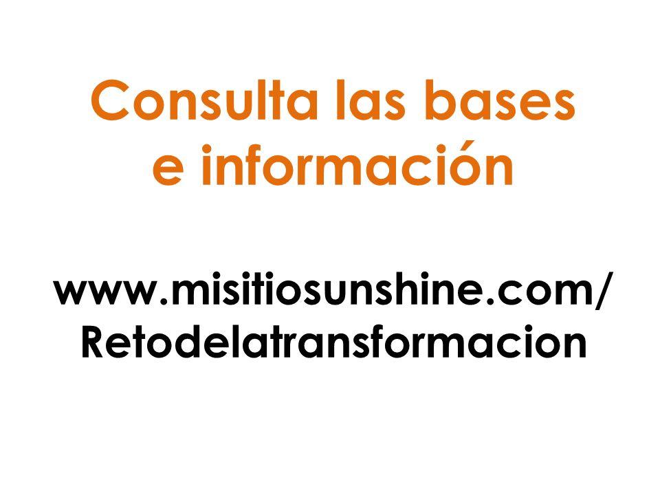 Consulta las bases e información www. misitiosunshine