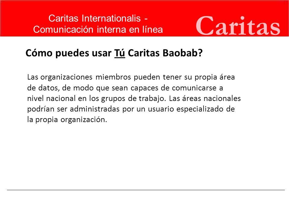 Caritas Cómo puedes usar Tú Caritas Baobab Caritas Internationalis -