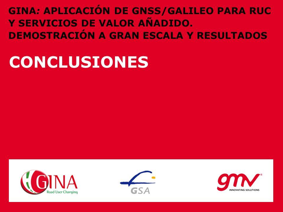 GINA: APLICACIÓN DE GNSS/GALILEO PARA RUC Y SERVICIOS DE VALOR AÑADIDO