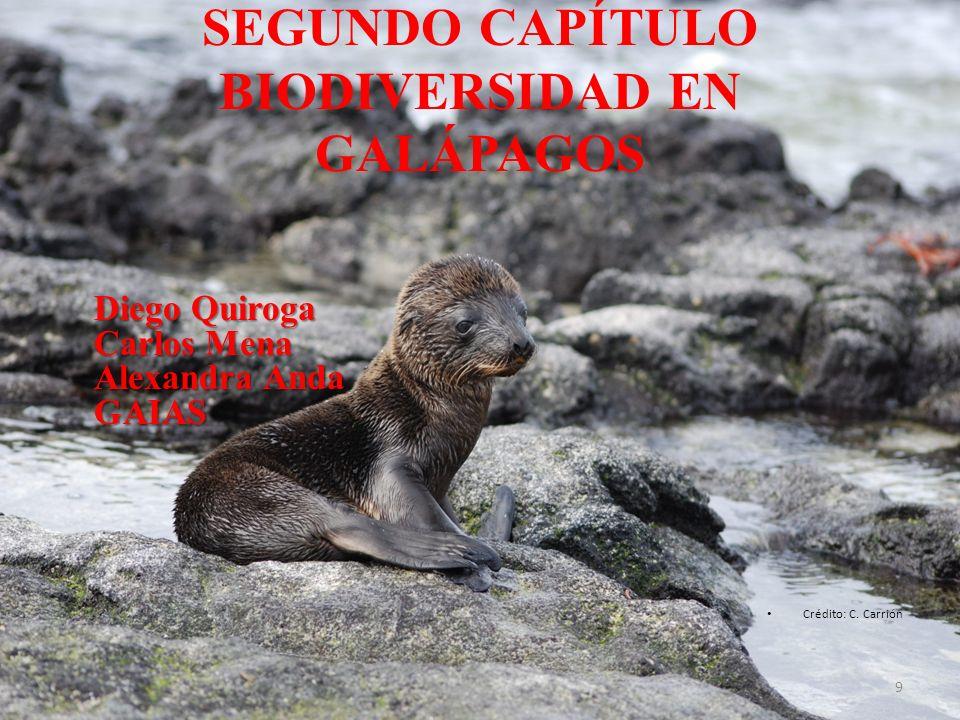 SEGUNDO CAPÍTULO BIODIVERSIDAD EN GALÁPAGOS