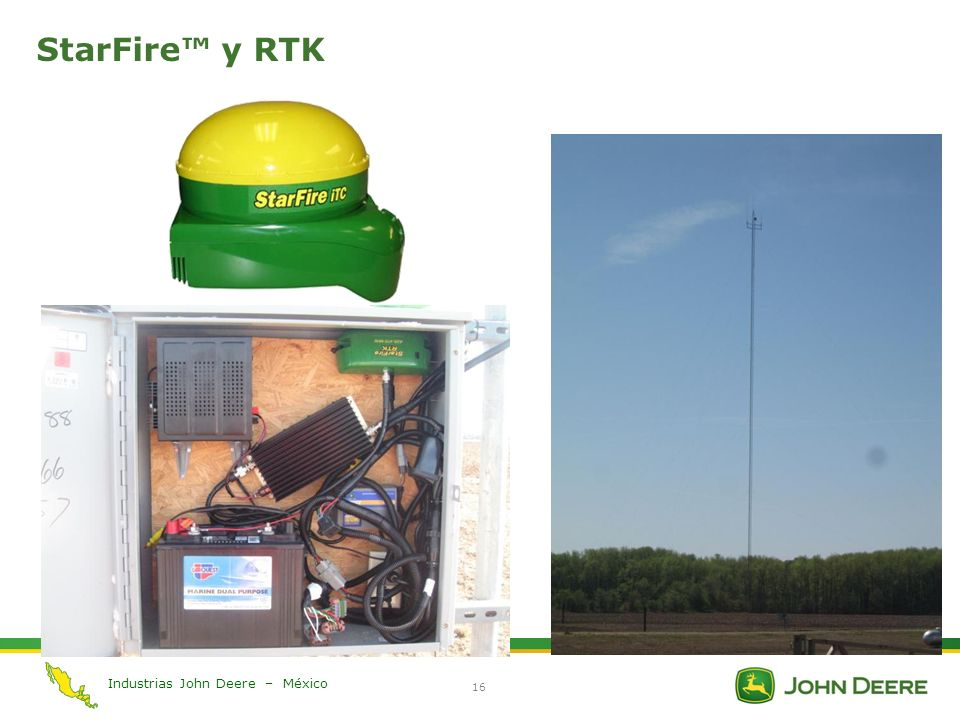 StarFire™ y RTK StarFire™ and RTK Section Introduction slide