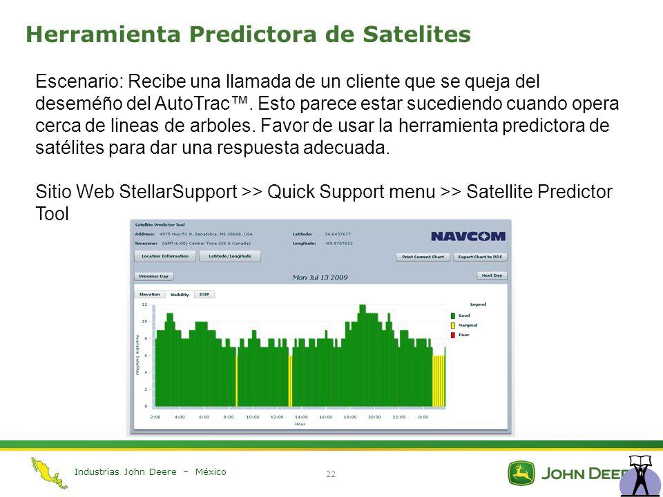 Herramienta Predictora de Satelites