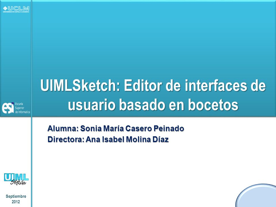 UIMLSketch: Editor de interfaces de usuario basado en bocetos