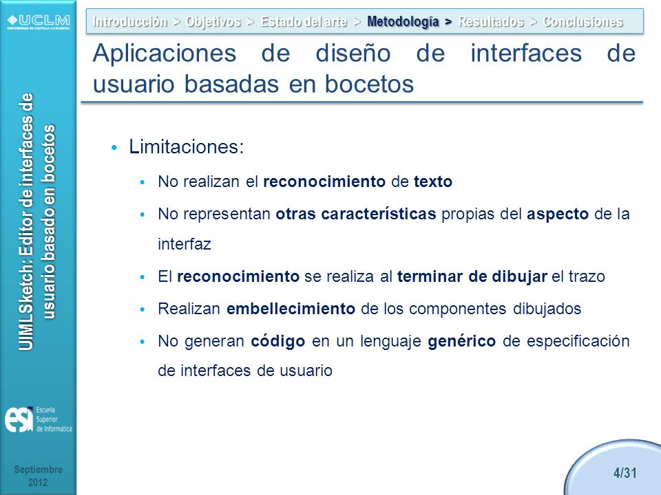 Aplicaciones de diseño de interfaces de usuario basadas en bocetos
