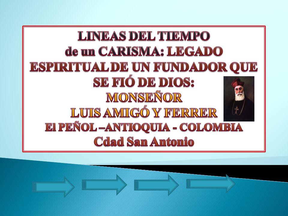 ESPIRITUAL DE UN FUNDADOR QUE SE FIÓ DE DIOS: MONSEÑOR
