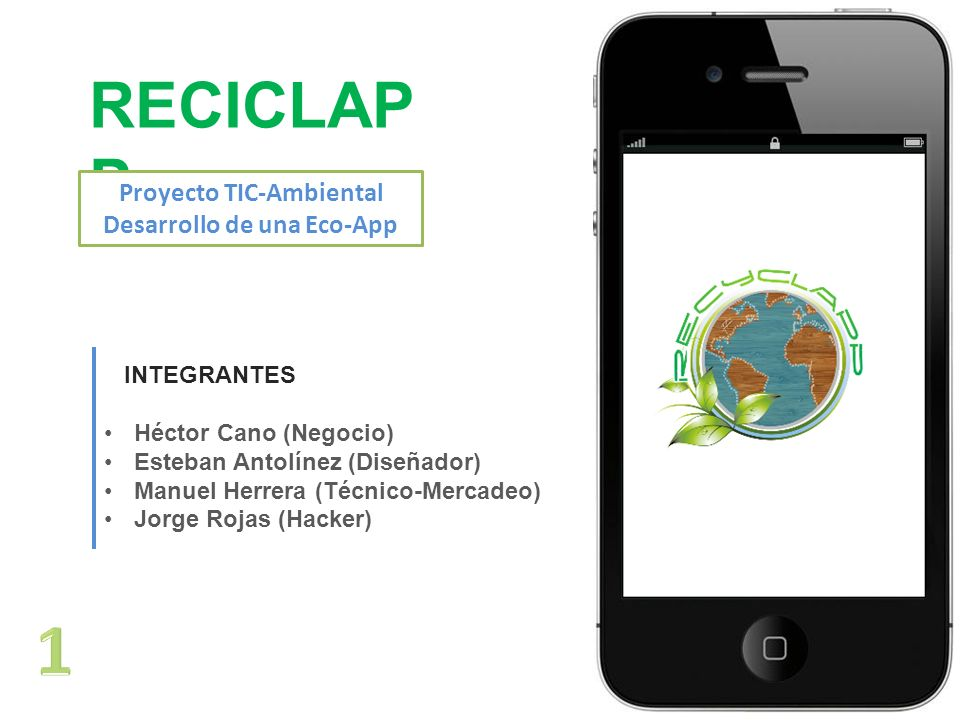 Proyecto TIC-Ambiental Desarrollo de una Eco-App