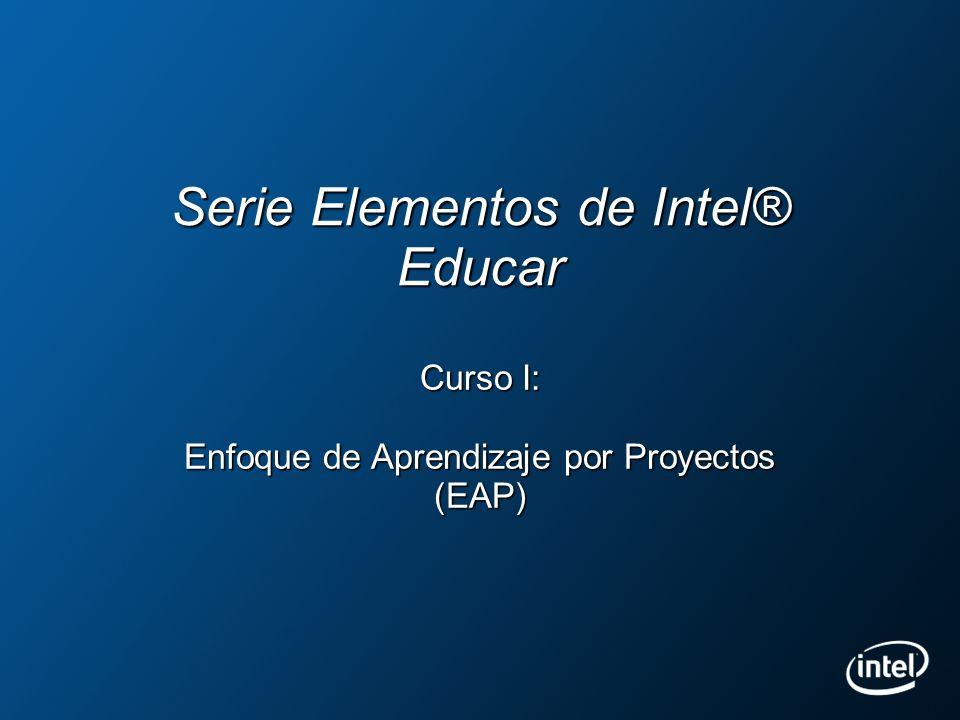 Serie Elementos de Intel® Educar