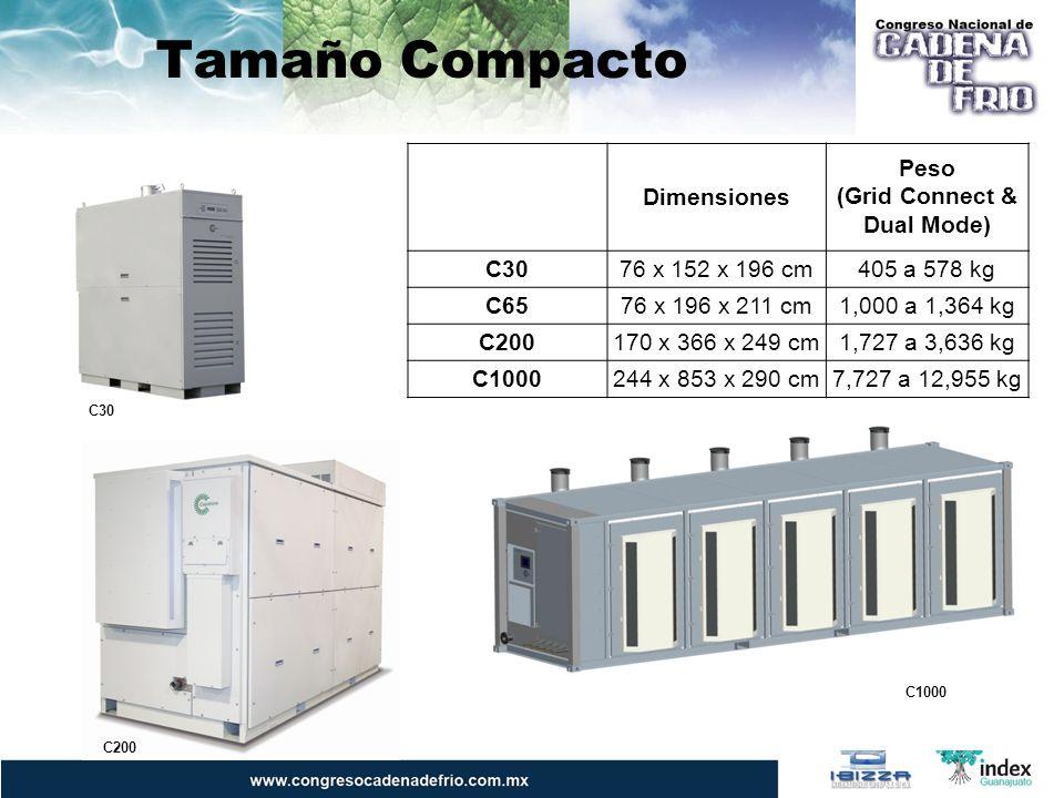 Propuesta Capstone Instalación Tradicional Capstone ICHP 575 kW waste