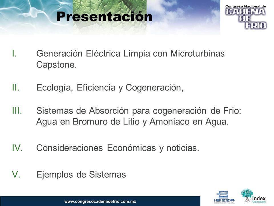 Ecología, Eficiencia y Cogeneración