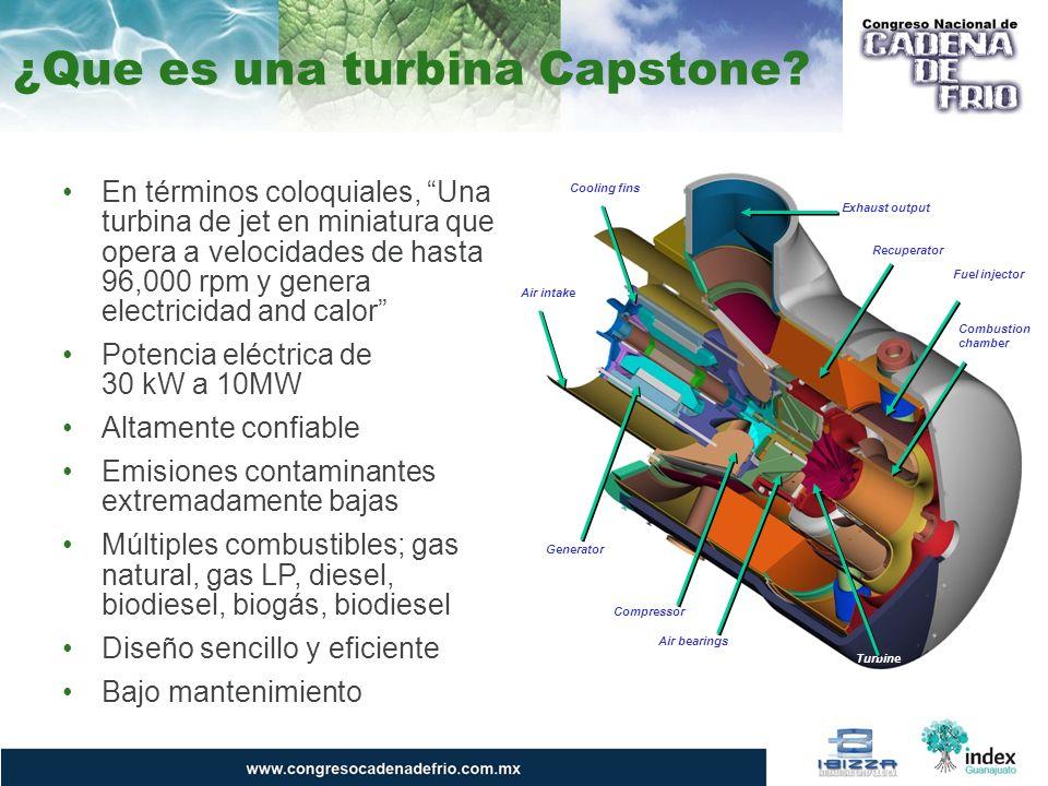 La Microturbina de Capstone
